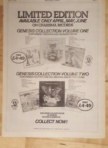 Genesis-collection-1975-press-advert-Full-page-28-x-39-cm-poster