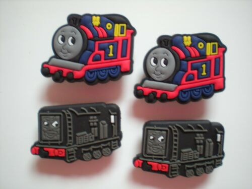 CLOG SHOE CHARMS FIT KID ACCESSORIES WRISTBANDS 4 THOMAS THE TRAIN