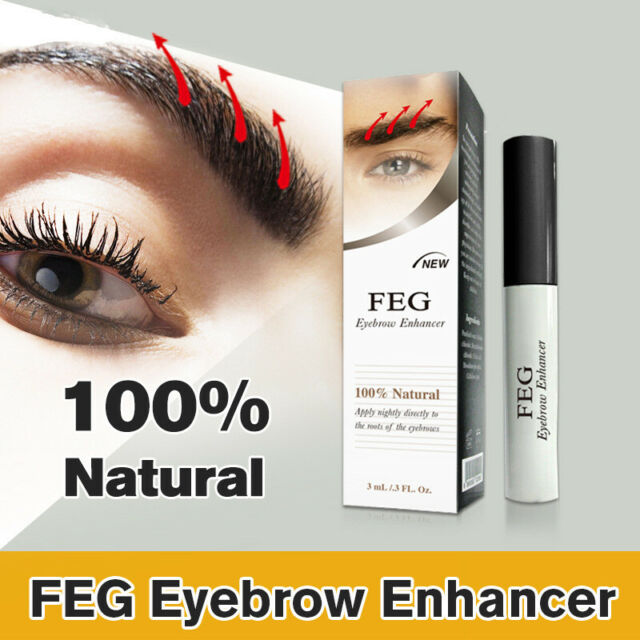 100%Natural FEG Eyebrow Enhancer for Rapid Eyebrow Growth Gel 3ml Powerful Serum