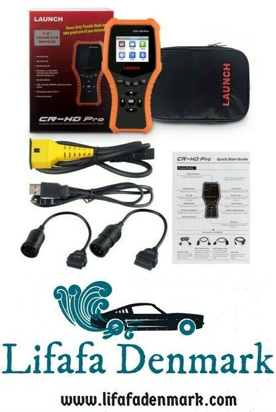 LAUNCH CR-HD Pro Car and Truck OBD2 HOBD Tester