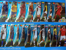 # ADRENALYN XL BRASIL 2014 DEFENSIVE ROCK - Figurina-Sticker- SET 18 CARDS CPL