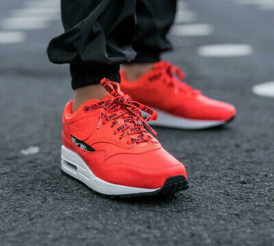 Nike Air Max 1 se Overbranded Rosso Donna Ginnastica Scarpe