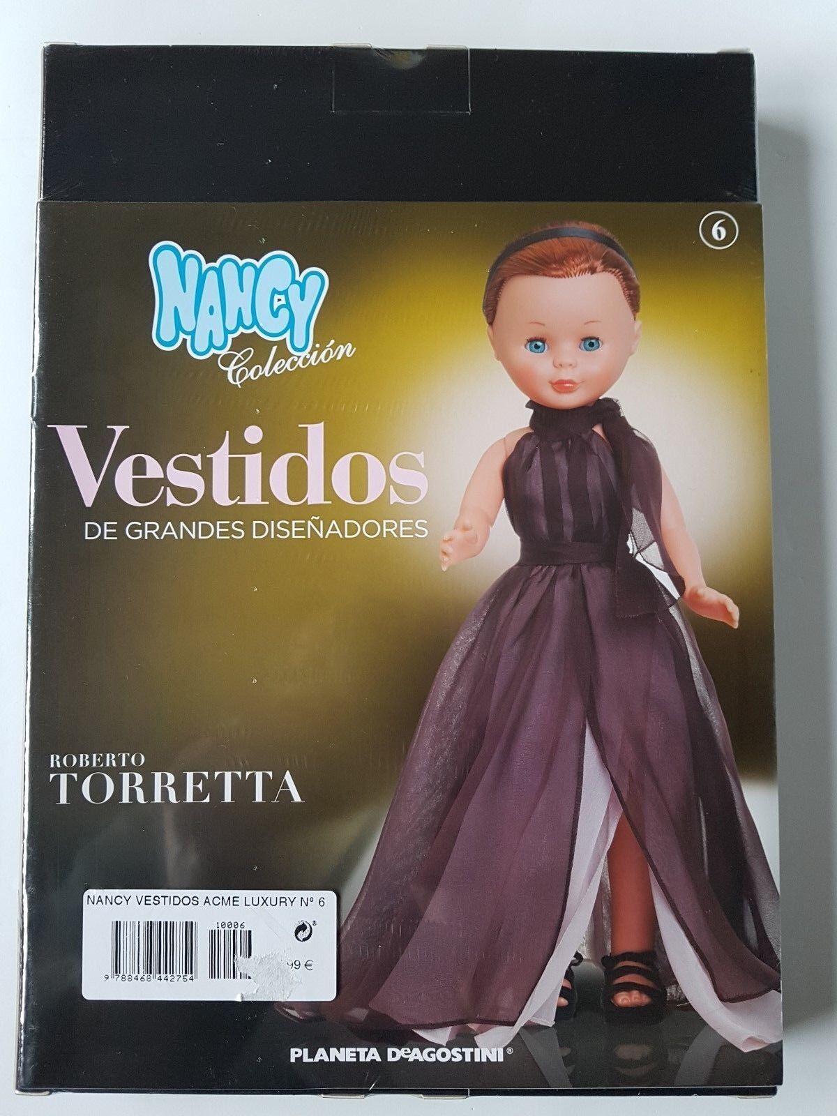 Muñecas Nancy Coleccion Vestidos Grandes Diseñadores Vestido N6 Roberto Torretta