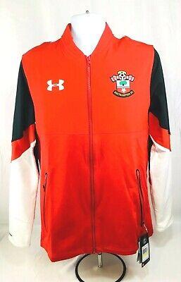 Red Sz M Earnest Under Armour Storm Men's Southampton Fc Full Zip Soccer Jacket Soccer-international Clubs