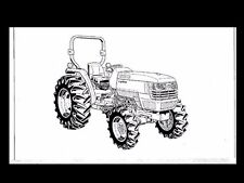 KUBOTA L4400 TRACTOR OPERATIONS MANUAL 90pgs for L-4400 Service and Maintenance