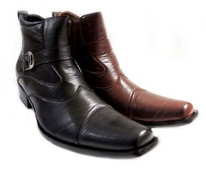 Mens Shoes With  Buckles