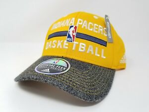 Image is loading Indiana-Pacers-Adidas-Climalite-Yellow-Practice-Fitmax-7- 30fb3e963f82