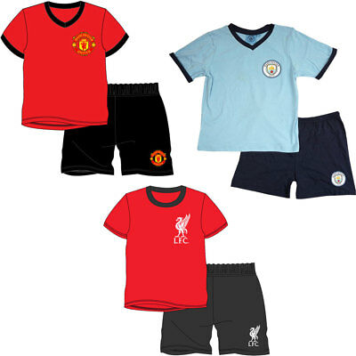 OFFICIAL LIVERPOOL BOYS PYJAMA SET SUBLIMATION PRINTS 100/% COTTON 4 TO 12 YEARS