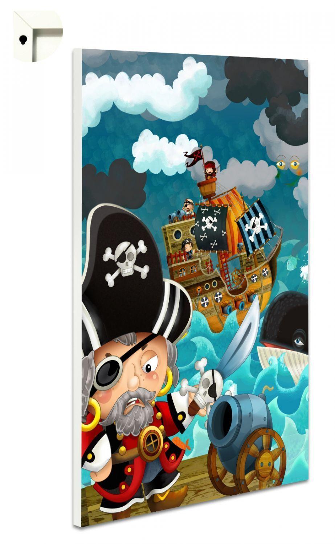Magnettafel Pinnwand Memoboard Motiv Kinderzimmer Piraten ...