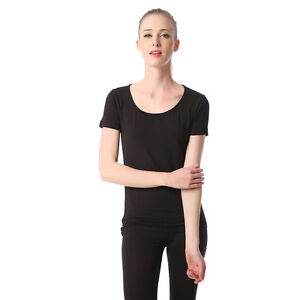 Jasmine-Silk-Damen-039-Thermo-T-Shirt