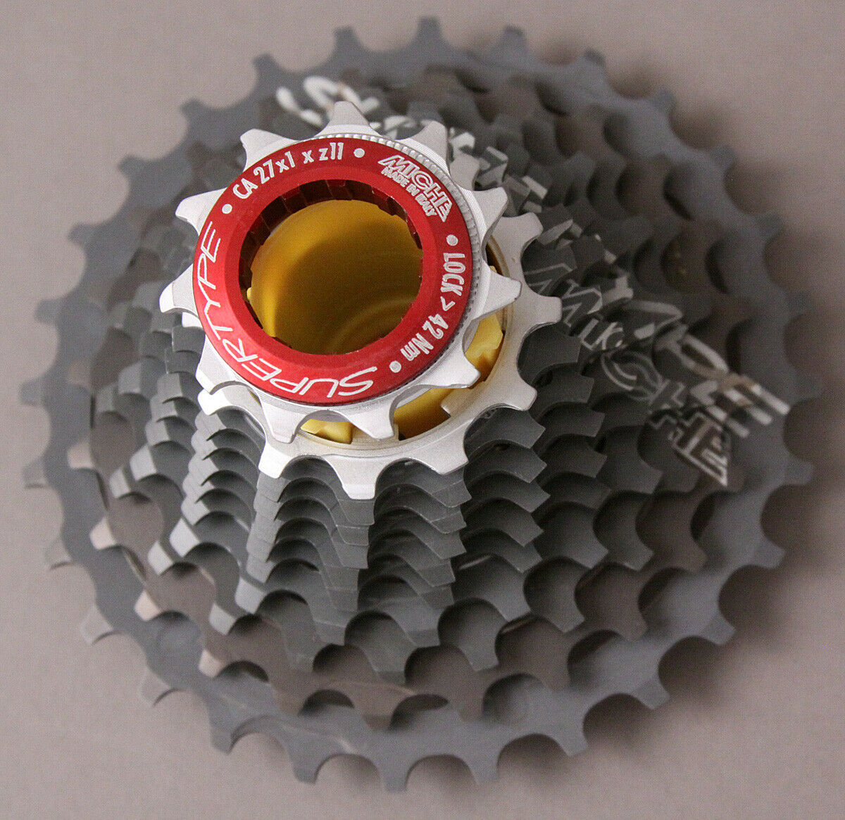 Miche 11 Speed Supertype RACE DAY Cassette 11-25 Campagnolo Chorus Record Super
