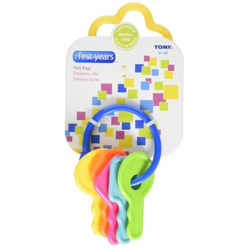 Pack of 9 The First Years Learning Curve First Keys Teether 1 ea
