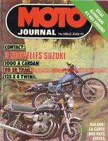 MOTO JOURNAL  458 SUZUKI GS 1000 G à cardan ER 80 125 X4 KAWASAKI KDX 400 1980