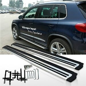 fits Volkswagen VW Tiguan 2007-2016 stainless steel side step bar running board 726853063237   eBay