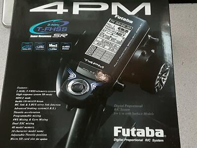 Futaba 4PM 4 Channel 4ch 2.4GHz T-FHSS TFHSS RC Remote Control Car Transmitter