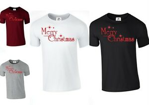 MERRY-CHRISTMAS-YA-Filthy-Animal-MAGLIETTA-T-SHIRT-ANNO-NUOVO-Natale-BUON