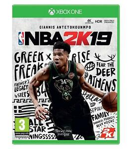 NBA-2K19-BASKET-BALL-NINTENDO-Xbox-One-XB1-Neuf-Scelle-UK-Gratuit-p-amp-p-UK-Vendeur