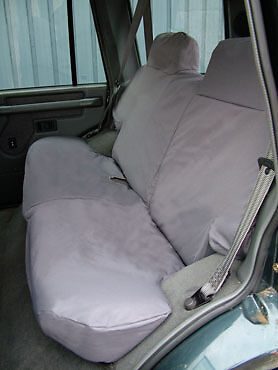 Land Rover Discovery 1 Green Waterproof Fitted Rear Seat Covers DA2808GREEN