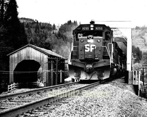 1972 Southern Pacific Railroad Drain Oregon Loco 9255