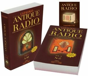 Libro-TSF-guida-pratica-CATALOGO-ANTIQUE-RADIO-vecchia-old-radios-set-wireless