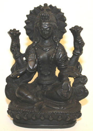 Resin Laxmi Statue, Hand Craved Nepal, CL33, Home Decor, Brand New