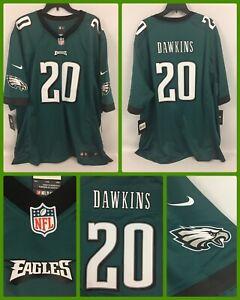 NWT Men's BRIAN DAWKINS Philadelphia Eagles Green Authentic Nike ...