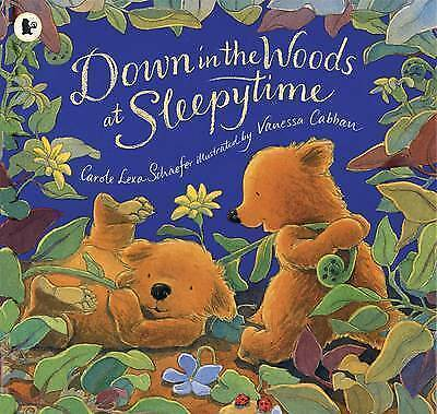 1 of 1 - DOWN IN THE WOODS AT SLEEPYTIME -Carole Lexa Schaefer (Paperback 2009) BRAND NEW