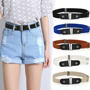 PM-Invisible-Buckle-Free-Faux-Leather-Elastic-Waistband-Belt-for-Jeans-Pants