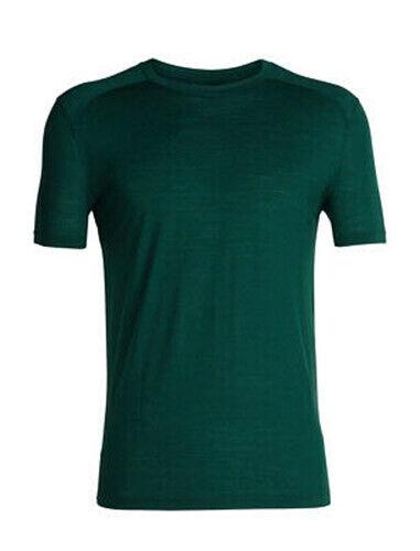 Icebreaker Merino Cool Lite Sphere SS Crew Shirt (M) Dark Pine