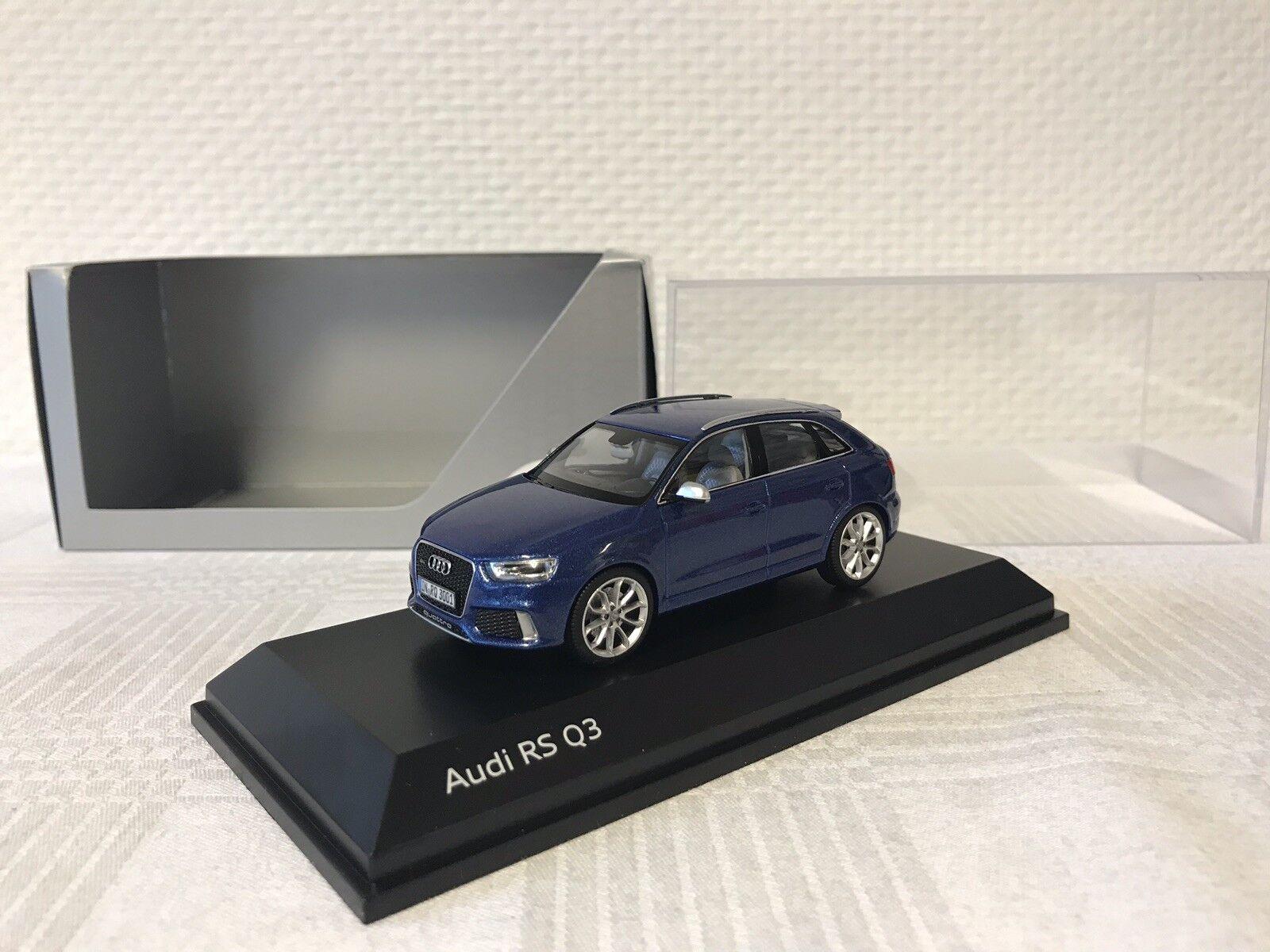 AUDI RS q3 1 43 regalo modello di auto MODELCAR scale model collezione rarità RARO