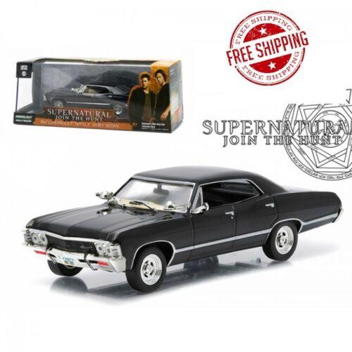 TV Series 2005 1967 Chevrolet Impala Sports Sedan Supernatural 1//43 Diecast