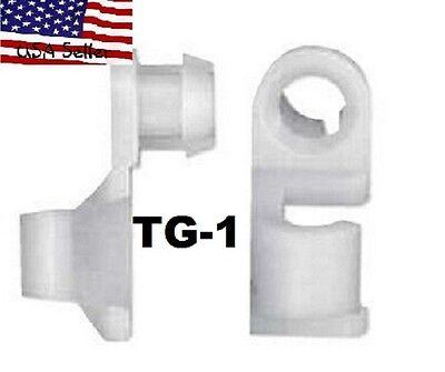 Chevrolet C//K C1500 C2500 C3500 Silverado /& GMC Tailgate Handle Rod Clips TG-1