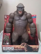 "BRAND NEW LANARD 18"" KING KONG SKULL ISLAND 2017 POSEABLE MEGA-FIGURE MONSTER"