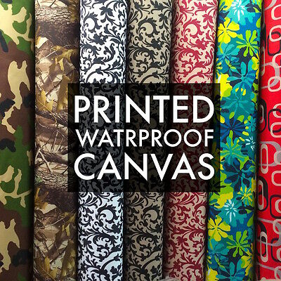 Printed Canvas Fabric Waterproof, Outdoor Canvas Fabric Canada