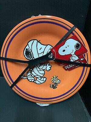 Set 3 Kids Peanuts Snoopy Halloween 8 Quot Plate Woodstock