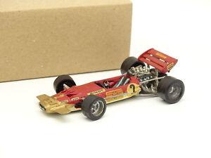 Kit Métal Monté 1/43 - F1 Lotus 72 #2 Jochen Rindt 1970 World Champion