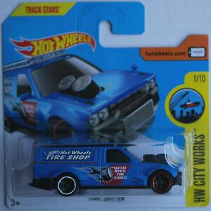 Hot-Wheels-Time-Shifter-mattblau-Neu-OVP