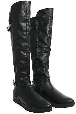 Tamaris Overknee Stiefel Damen Schuhe Boots Stiefeletten Lederoptik Keilabsatz | eBay