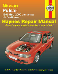 Nissan-Pulsar-N15-1995-2000-Repair-Manual