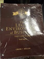 The Legal Environment of Business Text and Cases Tenth 10th 10 Edition