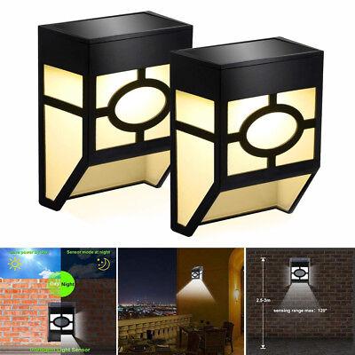 Solarleuchten Für Haus Im Freien Landschaftsgarten Zaun Lampe 1 Stück