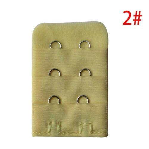5Pcs Underwear Bra Adjustable Buckle Extender Lengthened Gift~ Extension L0Z1