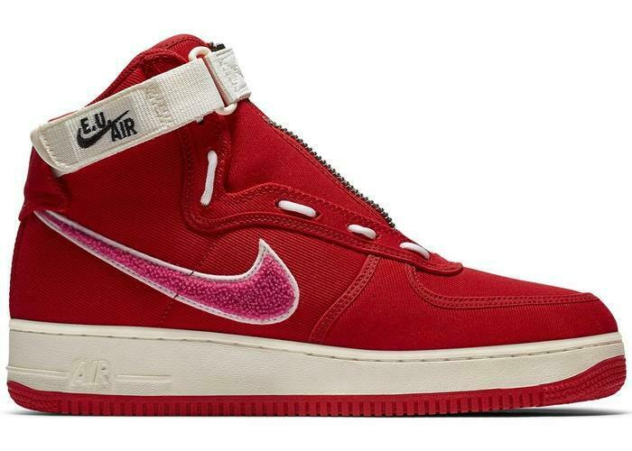 Homme Nike Emotionally Unavailable Air Force 1 High Team rouge Sail Rose AV5840-600