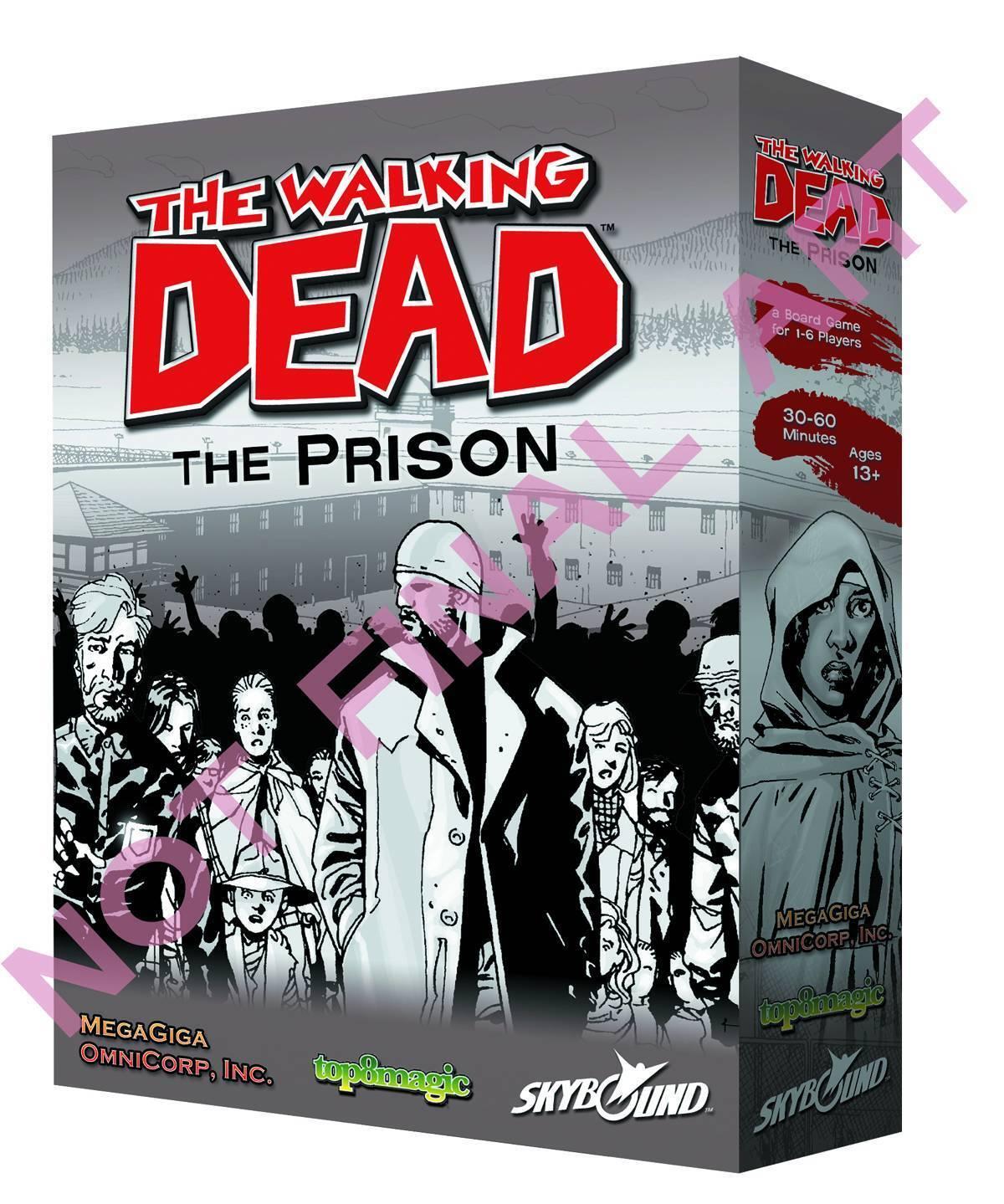 The en marchant Dead   The Prison - Jeu de Société - nouveau, English  magasin d'usine de sortie