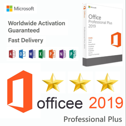 Microsoft Office Professional Plus 2019 Licence Key