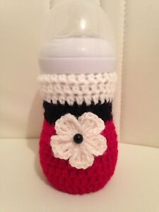 Dr BrownMAM Nuk hand crochet baby bottle cover tommee tippee