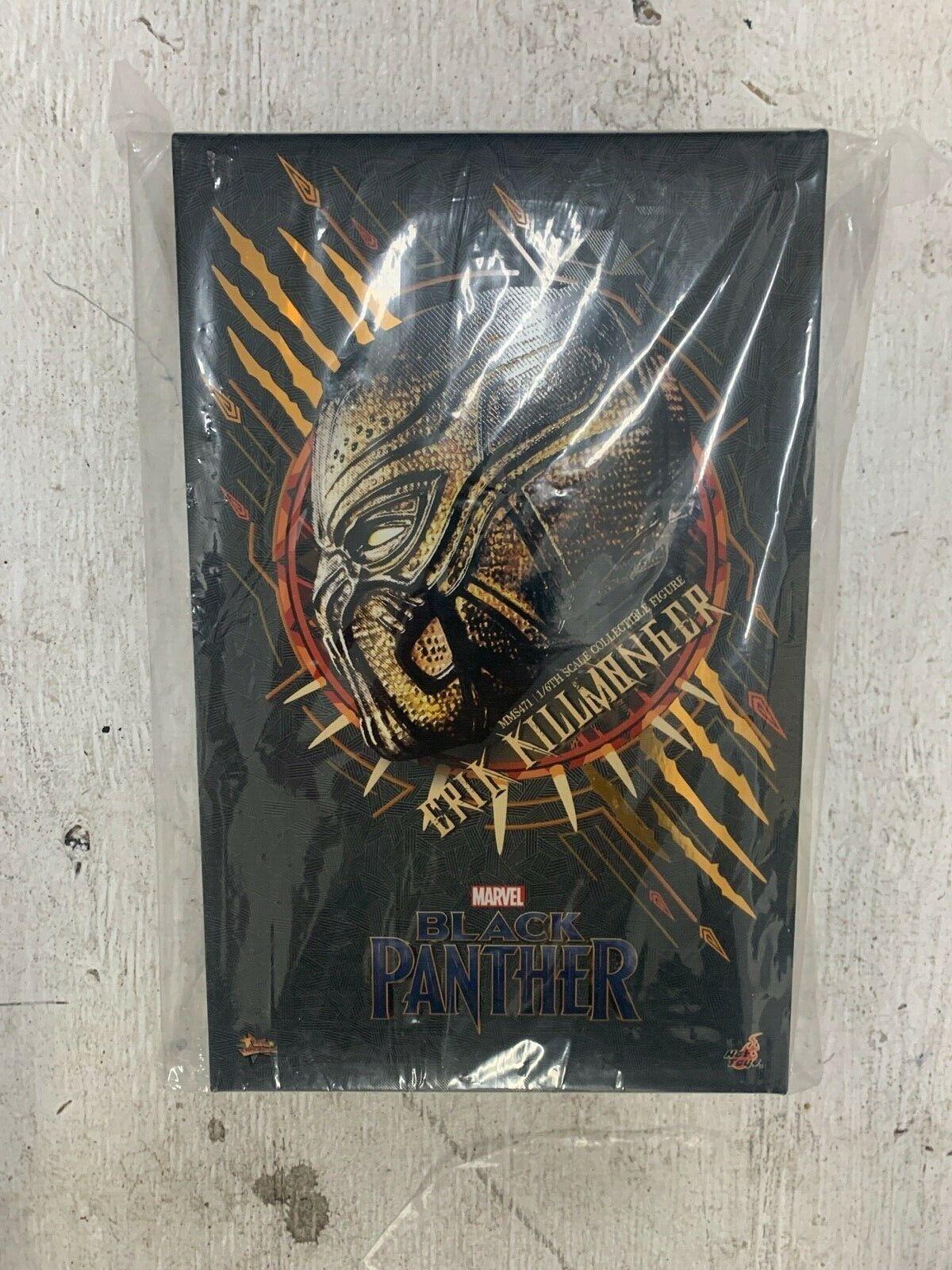 Marvel Hot Toys KILLMONGER Black Panther MMS 471 1/6 Avengers NO RESERVE wakanda on eBay thumbnail