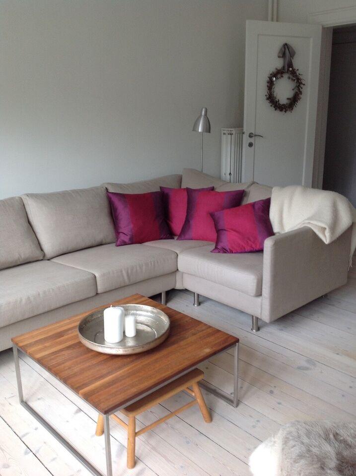 Sofa, stof, 5 pers.