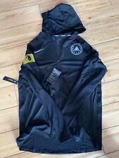 AV2919-010 Sz 2XL Run The Night Nike Running Solstice Element Hoodie Black