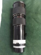 Tamron Zoom 80-250mm 3.8 Adaptall for Nikon F with Case, Caps